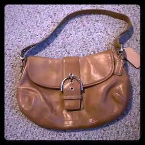 Coach 9248 Soho British Tan/Brown Leather Bag.